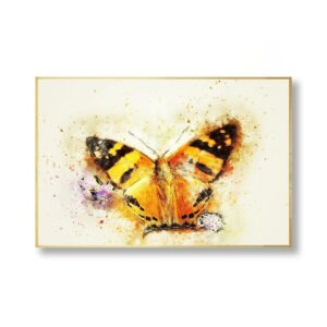 Picture butterfly yellow