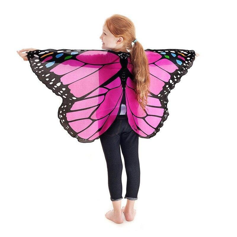 Pink girl butterfly costume