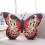 Red butterfly plush