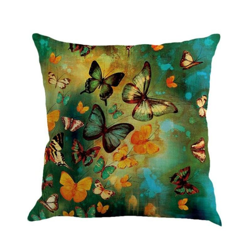 Butterfly pillowcase multicolor
