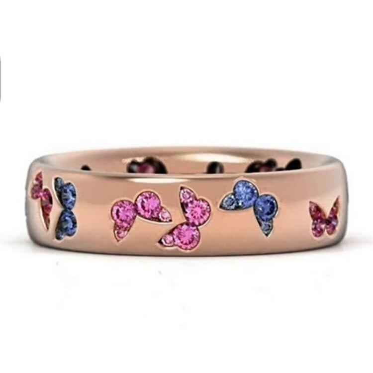 ring-gold-pink-butterfly-pink-blue-red