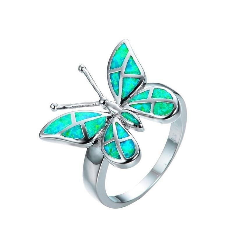 butterfly-ring-woman-green
