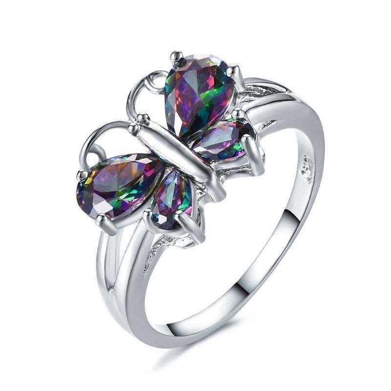 butterfly-silver-ring
