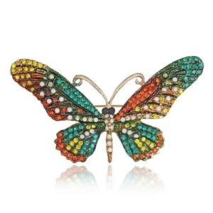 butterfly-pin-green-red-yellow