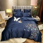 butterfly-bed blue