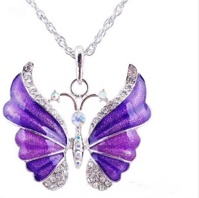 Butterfly Fantasy Necklace - Butterfly Dream
